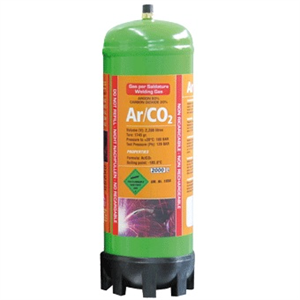 2,2L CO2 blandgas engangsflaske